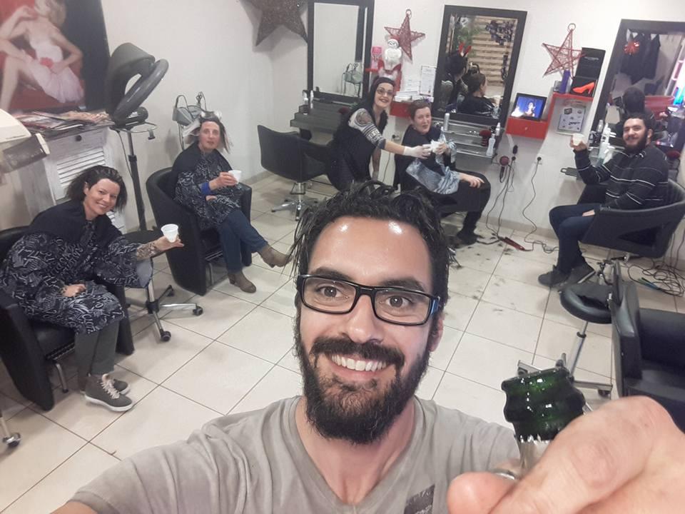 Phot d'Anthony, coiffeur au salon Anthony coiffure à Tillières
