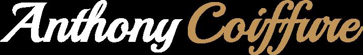Logo blanc d'Anthony coiffure, coiffeur à Tillères et saint macaire-en-mauges