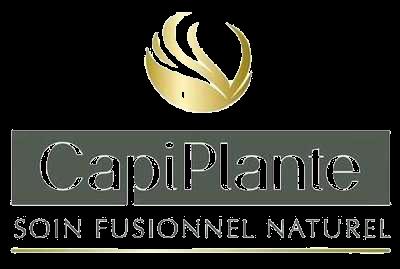 logo produits de la marque CapiPlante disponible au salon Anthony coiffure Tillières