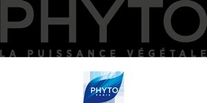 logo produits de la marque phyto disponible au salon Anthony coiffure Tillières